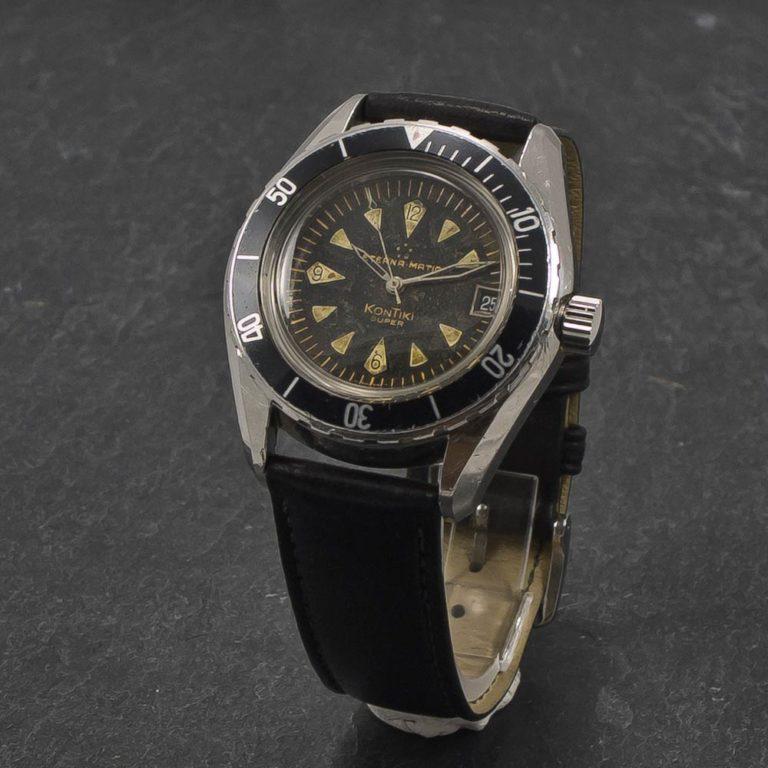 Brown Pocket Watch Men'S Vintage Tiger Hollow / Carved