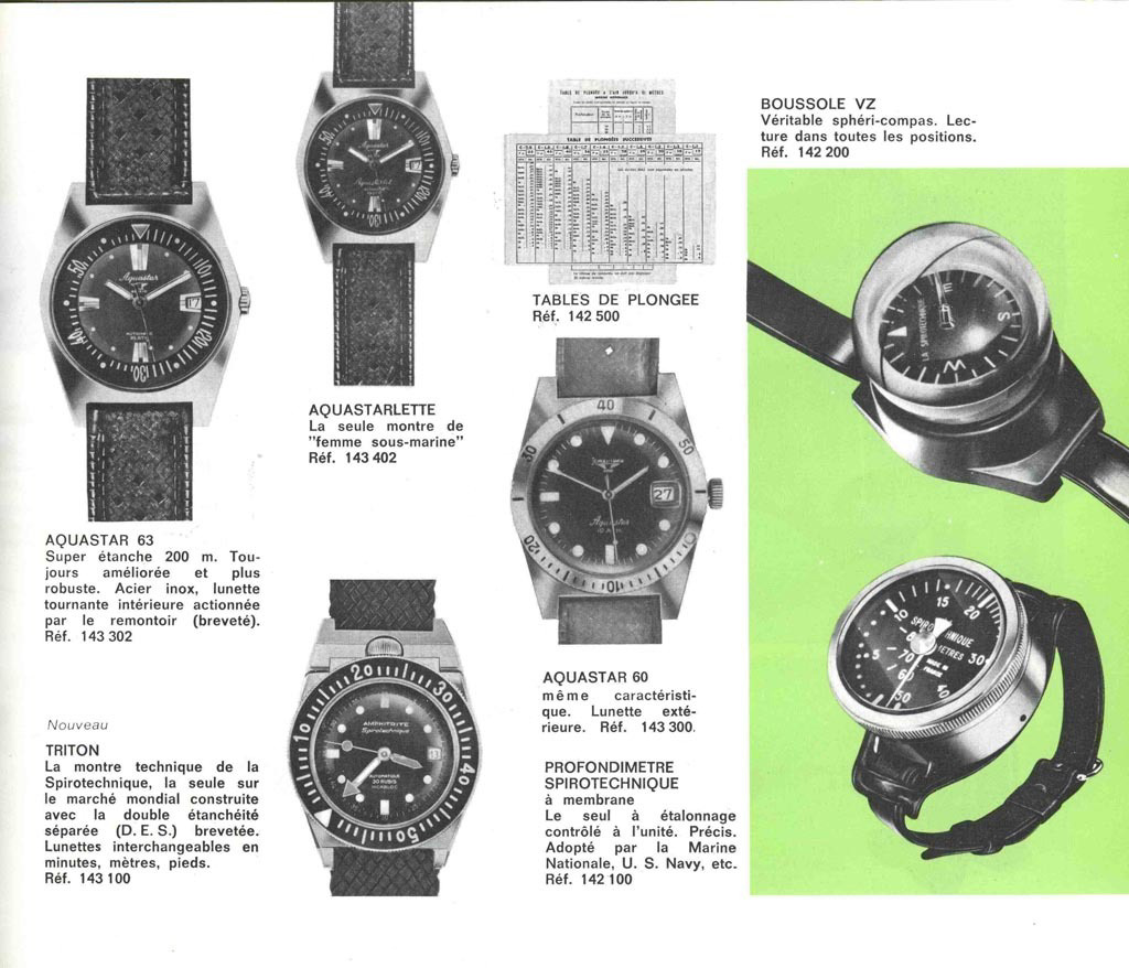 JeanRichard Geneve AquaStar watches
