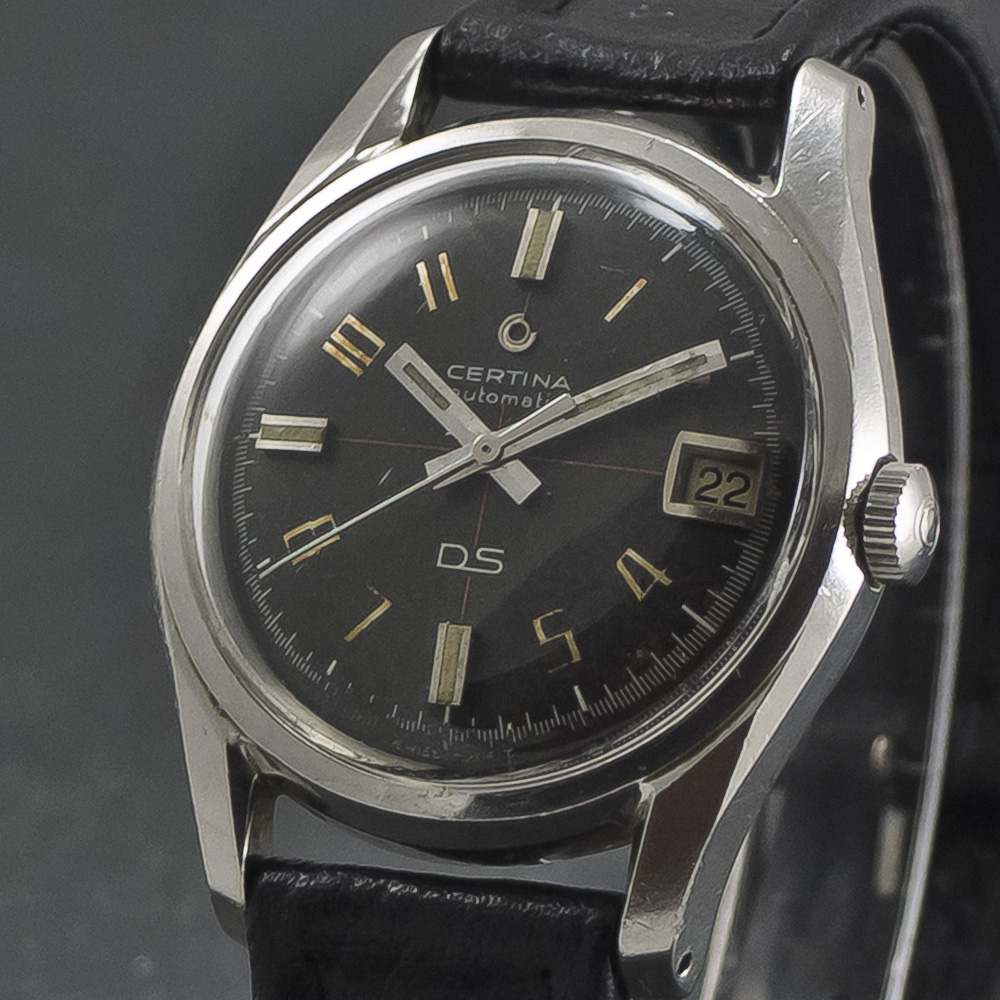 Certina DS Dark Knight A ( Early diver) 001
