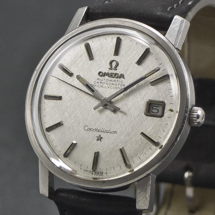 Omega Constellation SilverSilk dial 001