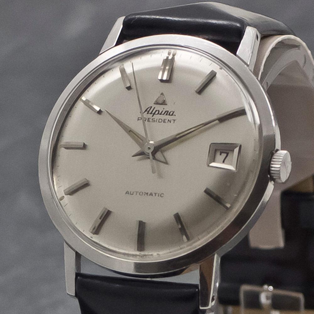 Alpina President Automatic Anno WwwWristChronologycom - Alpina automatic watch