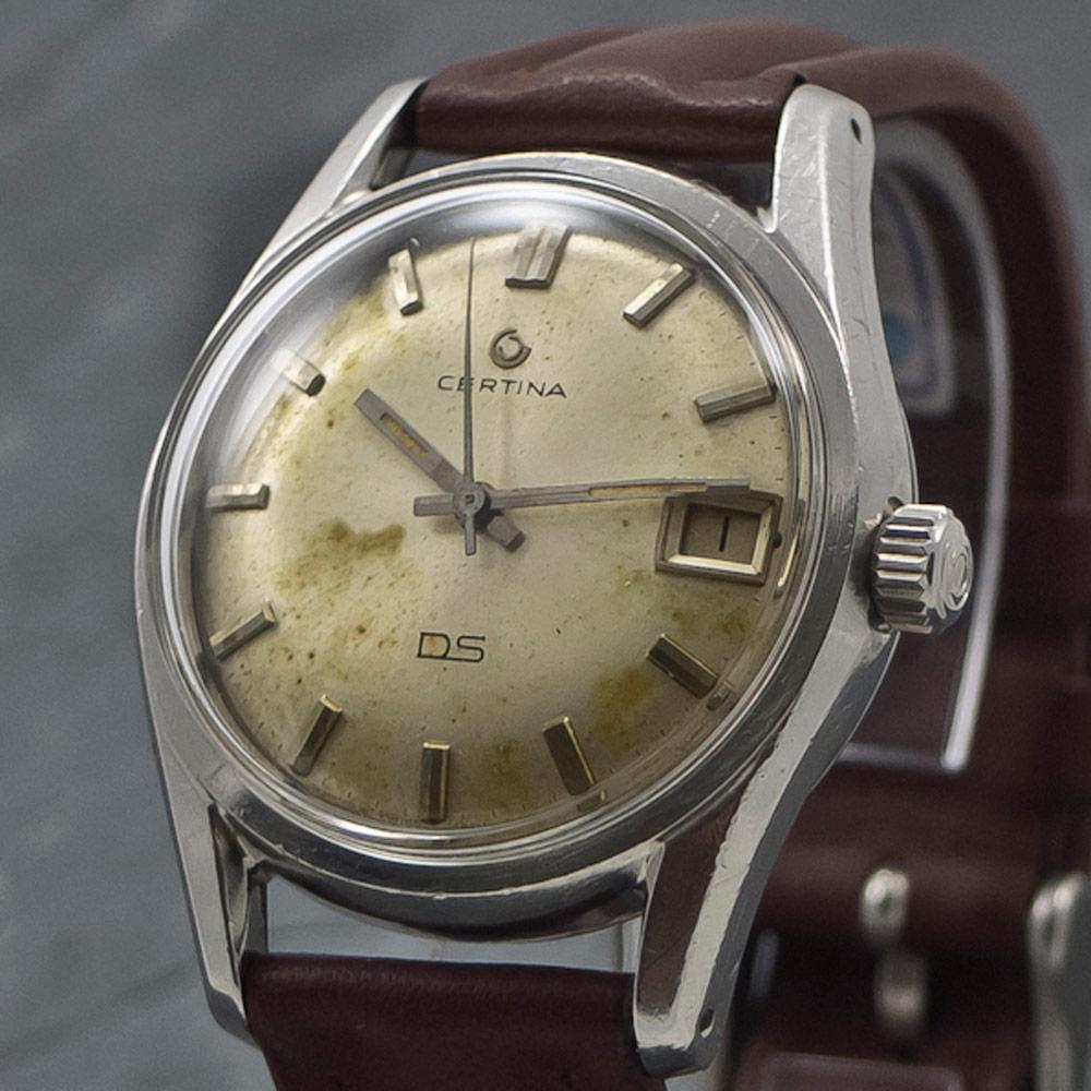 certina ds certidate anno 1965 vintage watches