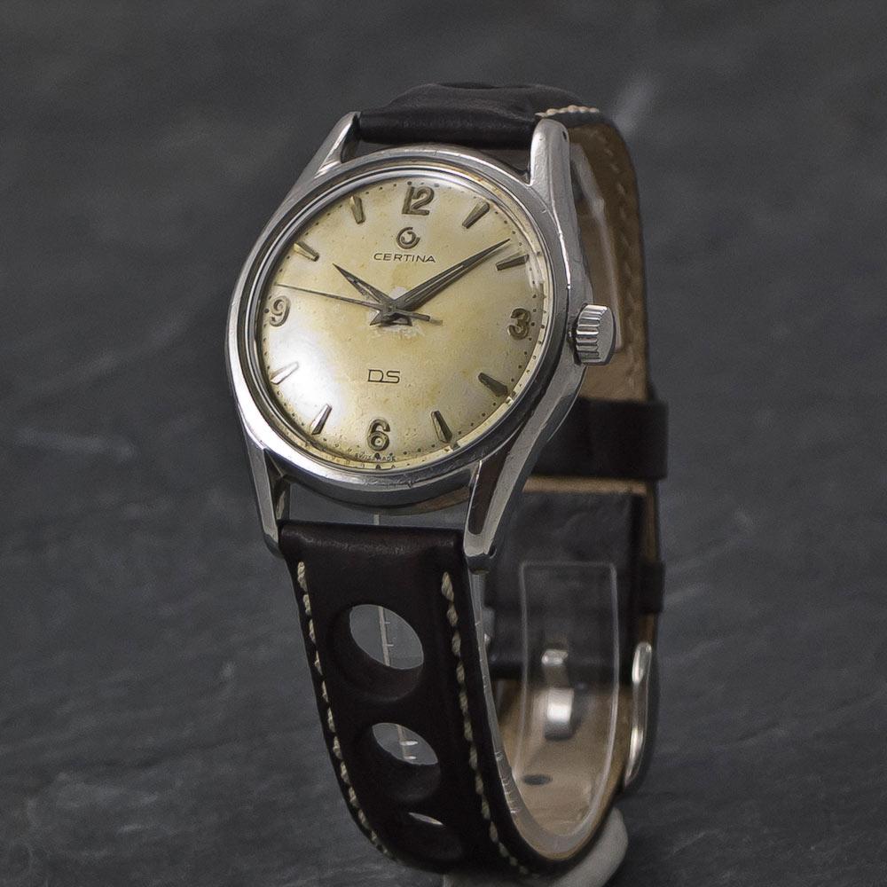 certina ds 1st turtleback vintage watches www