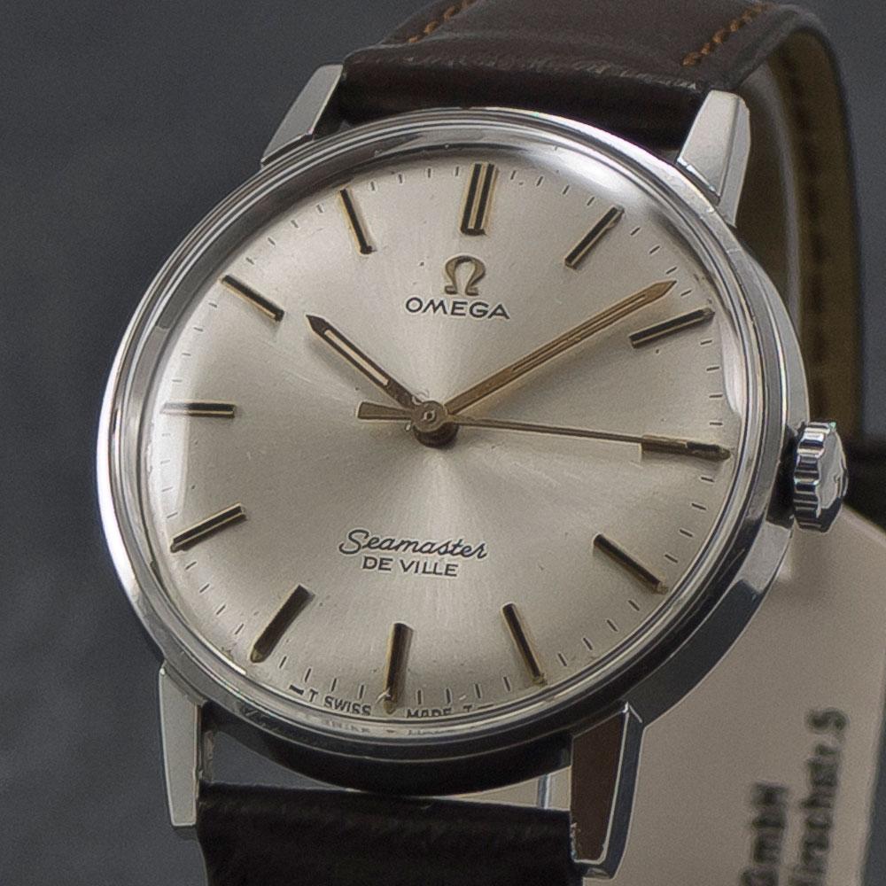 omega seamaster de ville manual 1969 wristchronology rh wristchronology com Omega Seamaster Aqua Terra Rolex Submariner