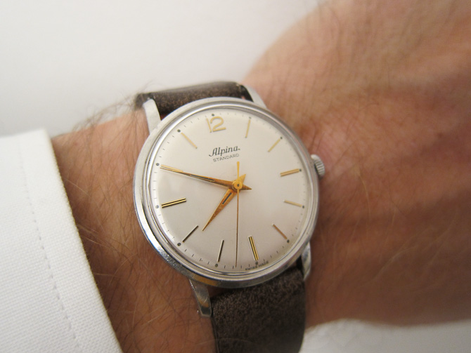 Omega Sub Sec vintage ure for alle penegne Alpina