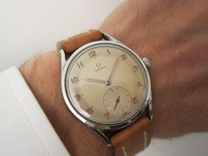 Omega Sub Sec vintage ure for alle penegne