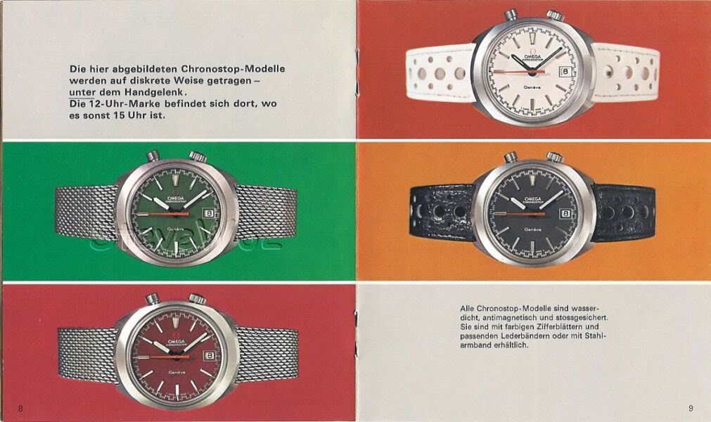 Omega Chronostop - Drivers watch 001