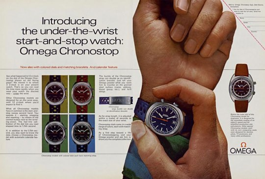 Omega Chronostop - Drivers watch 002