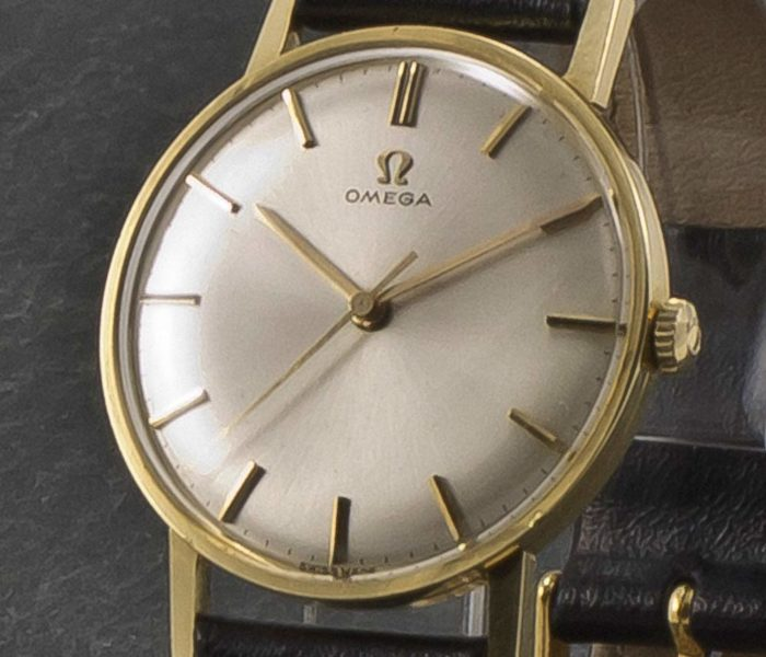 Omega Centre Second 14K Gold-004