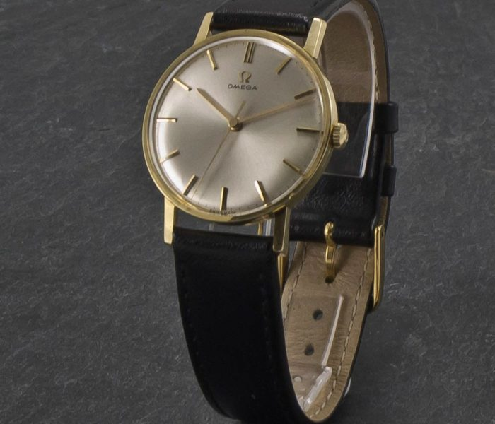 Omega Centre Second 14K Gold-006