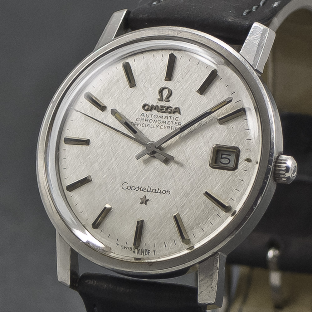 Omega Constellation SilverSilk dial 001