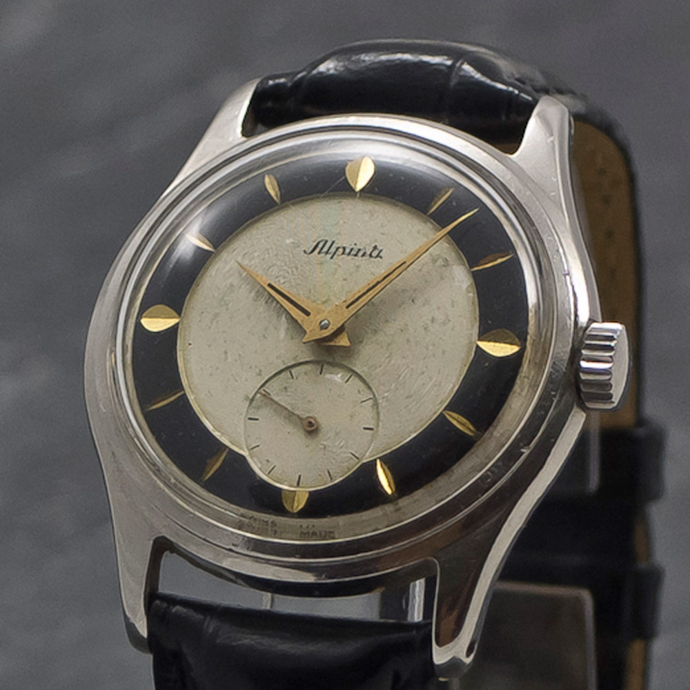 Alpina Sub Second 1946 Manual Www Wristchronology Com