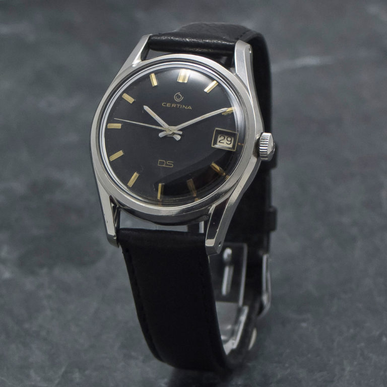 Certina DS - Turtle - WristChronology - vintage ure www.wristchronology.com