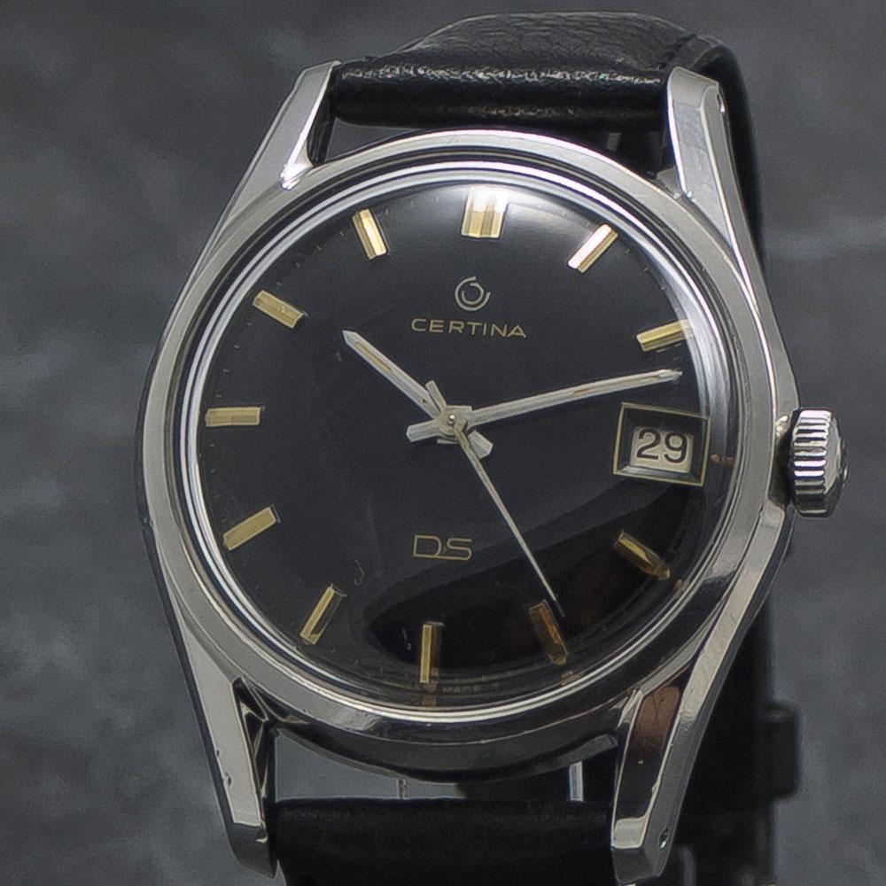 Certina-DS-Black-Dial-005—Www.WristChronology.com-Vintage-ure