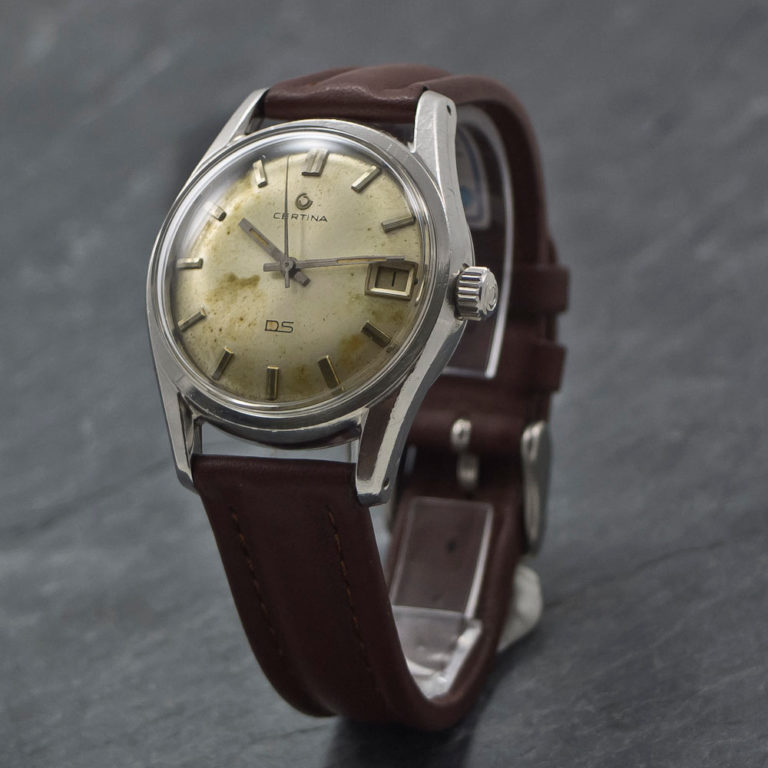 Certina DS - Turtleback - 1965 - www.WristChronology.com