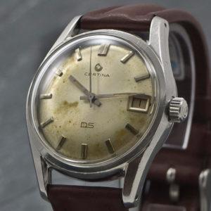 Certina DS - Turtleback - 1965 - www.WristChronology.com