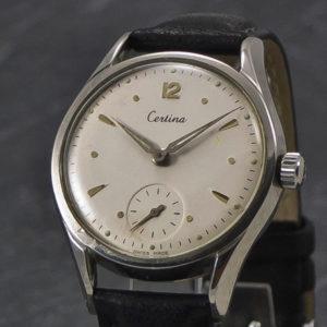 Rare Certina Sub Second - anno 1956 - www.WristChronology.com