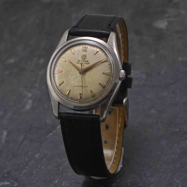 Cyma NavyStar Cymaflex - 1950 - www.WristChronology.com