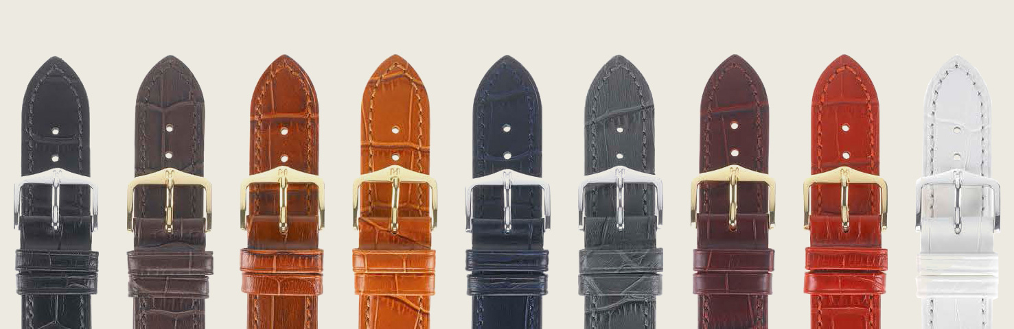 DUKE EXOTIC, EMBOSSED LEATHER - colors