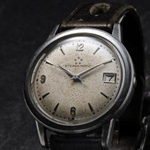 Eterna Matic (date) - Automatic - Vintage ure for enhver smag hos wwww.WristChronology.com eller LIKE os på Facebook: http://goo.gl/iY1fRe
