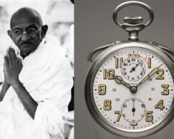 Zenith pocket watch Gandhi