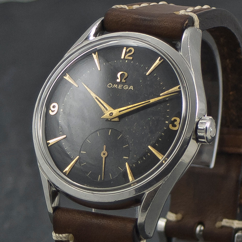 Omega-Sub-Second—Black-dial—Two-tone-001(CP)