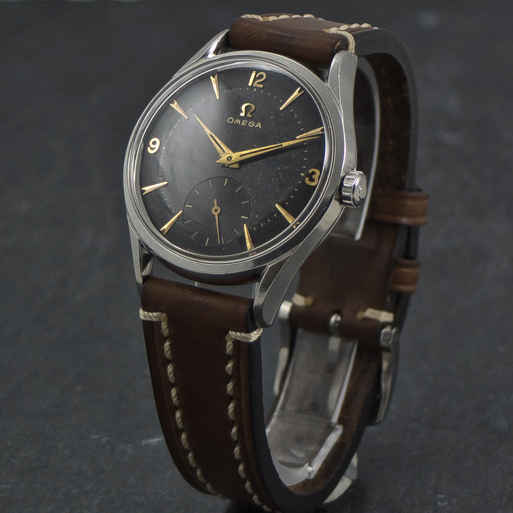 Omega-Sub-Second—Black-dial—Two-tone-002(CP)