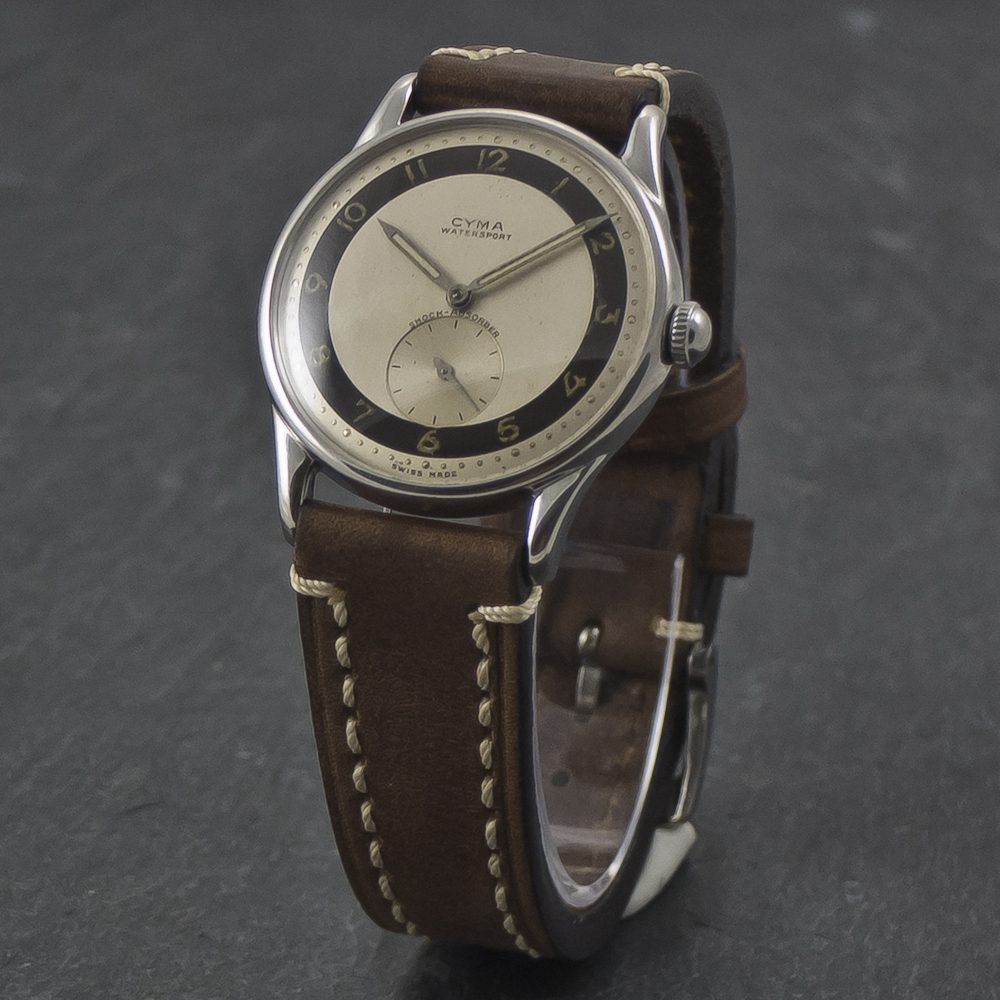 Cyma WaterSport vintage watch