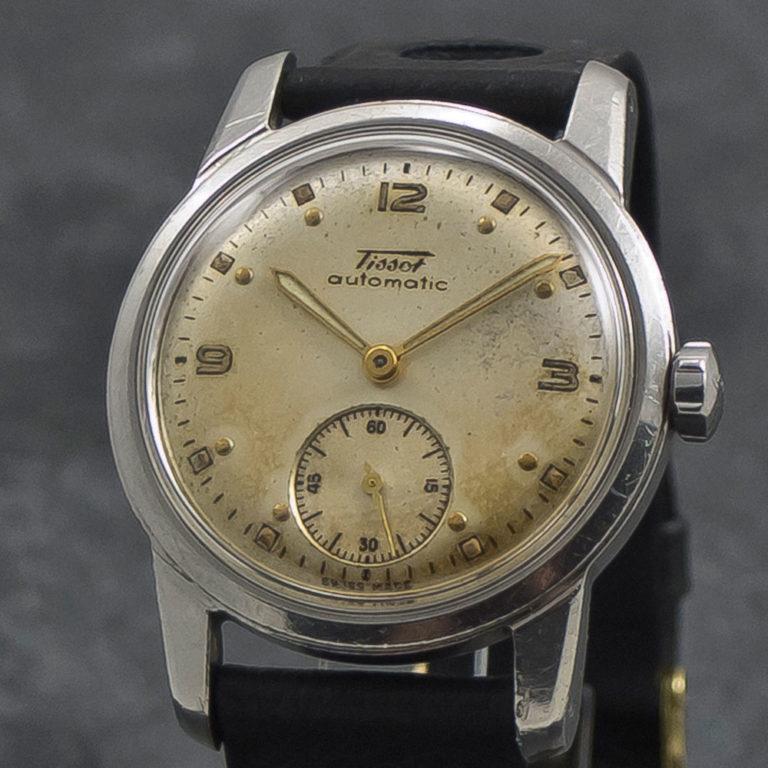 Tissot automatic - bumper - WristChronology - vintage ure www.wristchronology.com