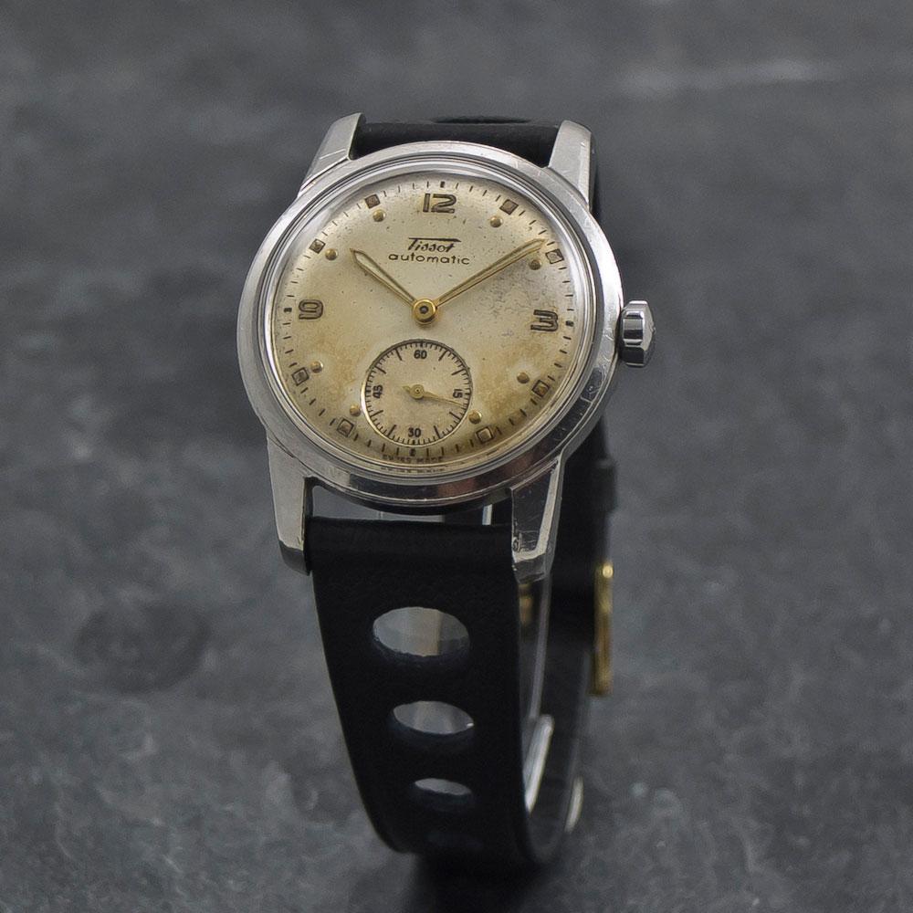 Tissot automatic – bumper –Www.WristChronology.com-Vintage-ure