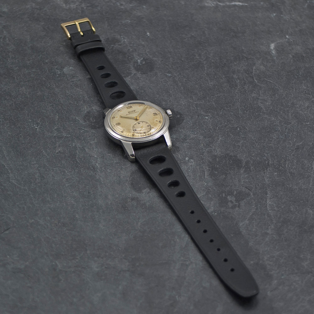 Tissot automatic – bumper -Www.WristChronology.com-Vintage-ure
