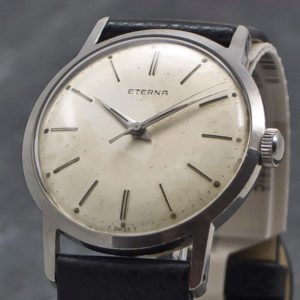 Eterna Centre Second - anno 1958 - www.WristChronology.com
