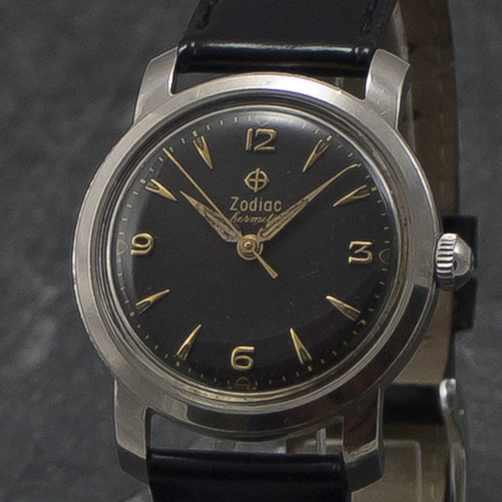 Zodiac Hermantic - manual - 1951 - www.WristChronology.com
