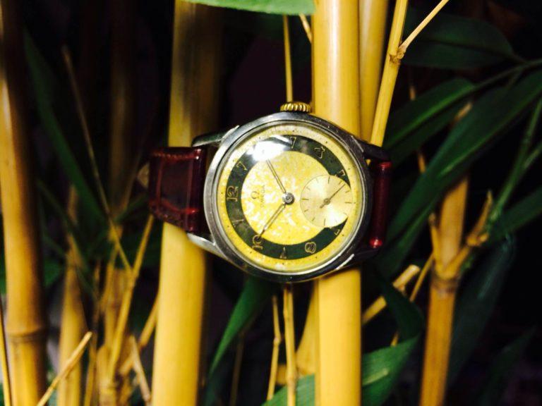 Omega - Vintage Watch - Two Tone - anno 1951 - www.WristChronology.com